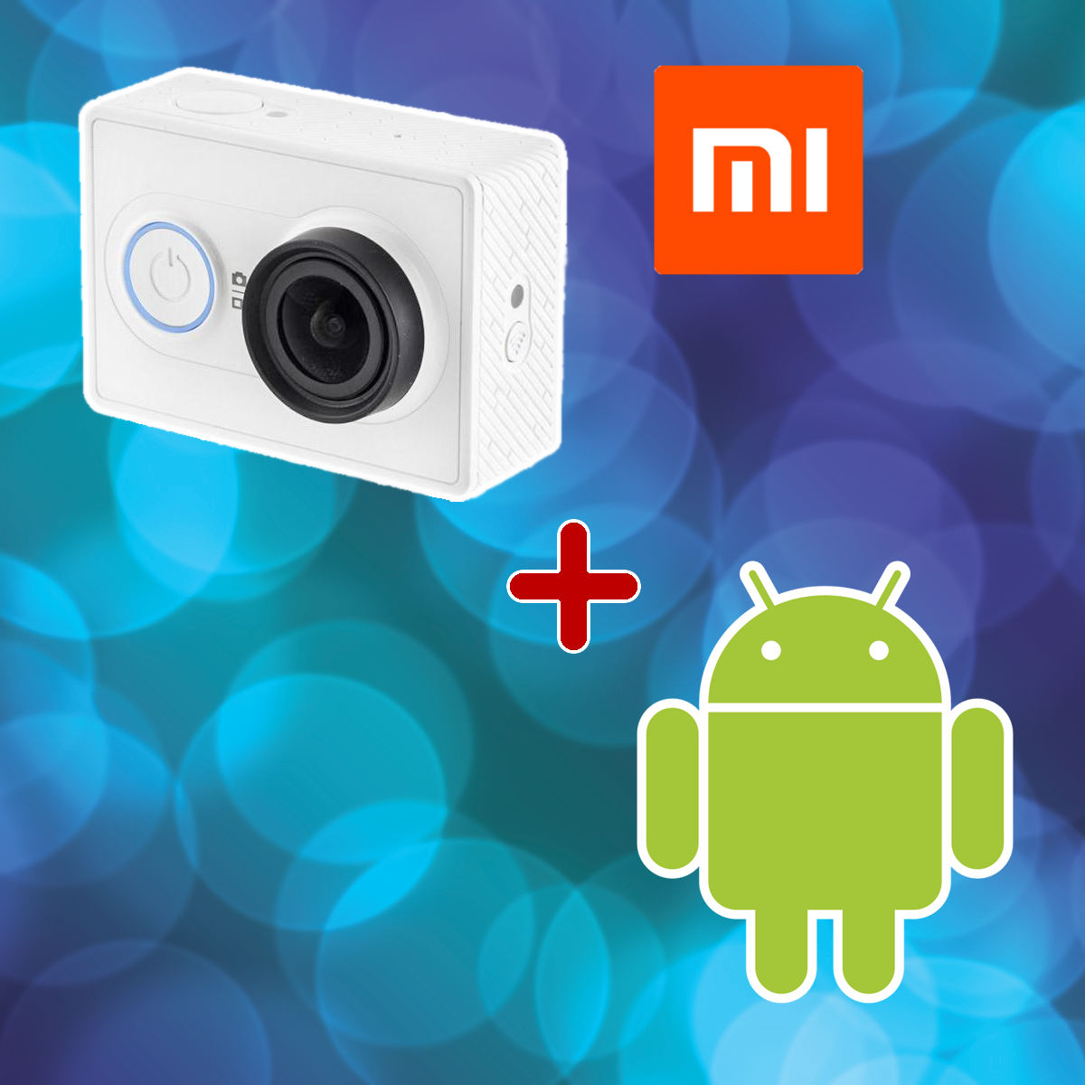 Android + kamery Xiaomi YI